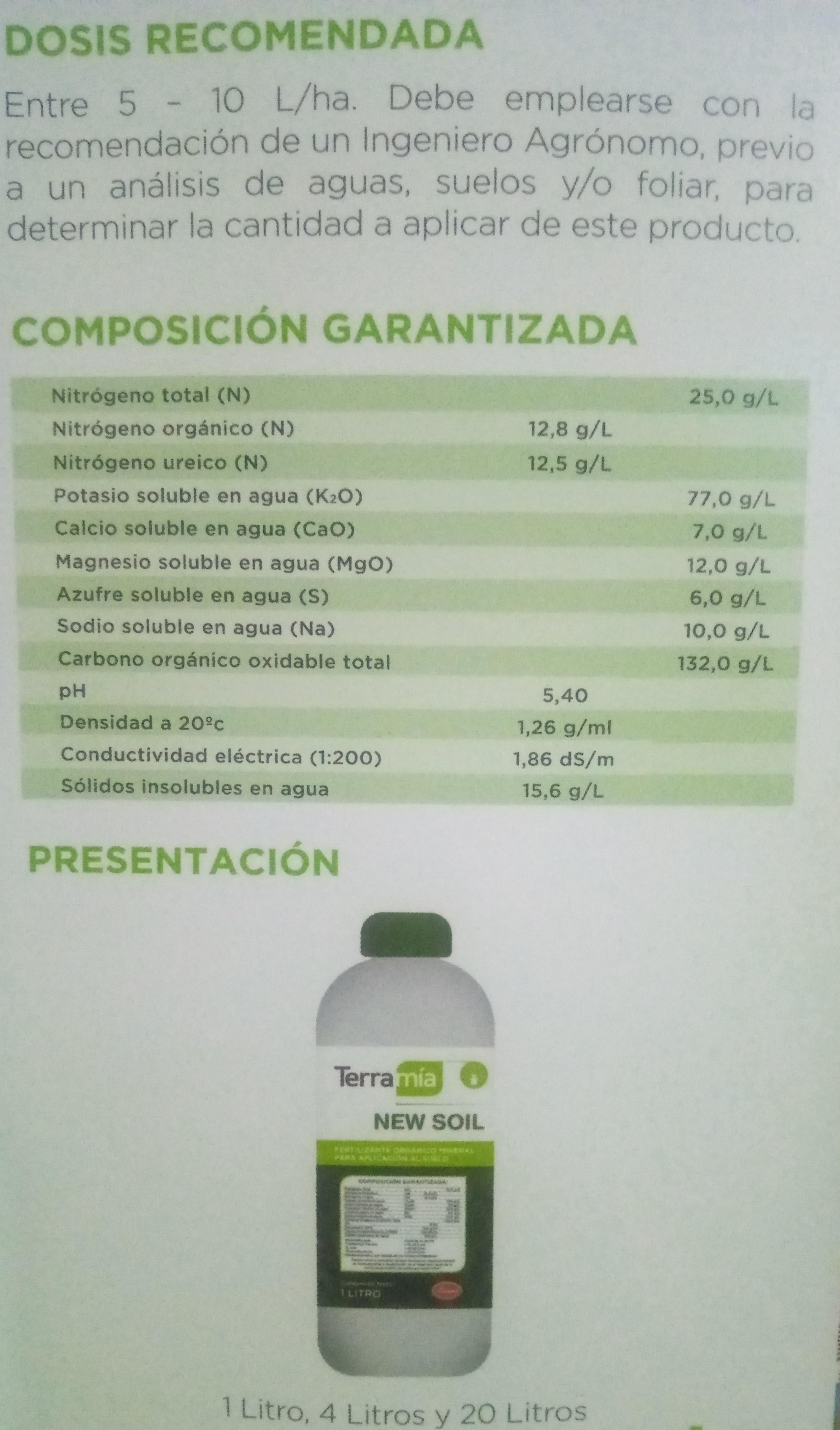 Fertilizante orgánico mineral