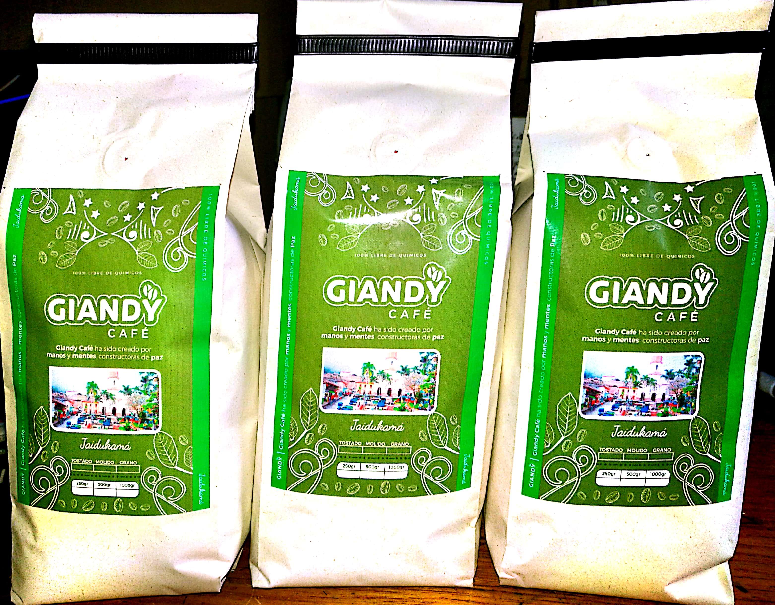 Giandy Café Ituango.
