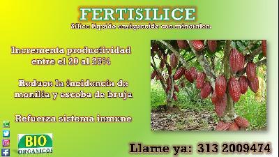 FERTISILICE (sílice líquidos enriquecido con minerales).