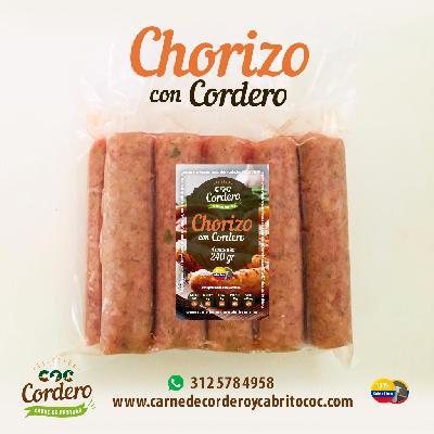CHORIZO CON CORDERO