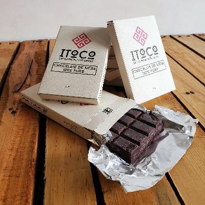 Chocolate en pastilla 100% cacao por 125g: ITOCO