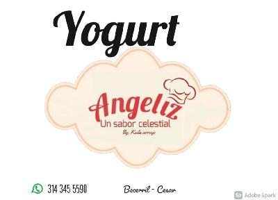 ANGELIZ YOGURT ARTESANAL ELABORADO CON CULTIVO EXCLUSIVO